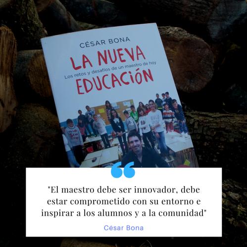 Nueva Educacion cita Cesar Bona